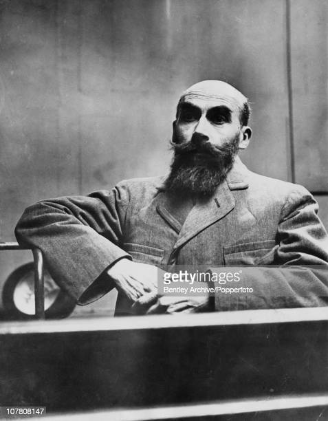 French serial killer Henri Desire Landru stands trial on 11 counts of murder in Versailles December 1921 He was found guilty and executed a few...