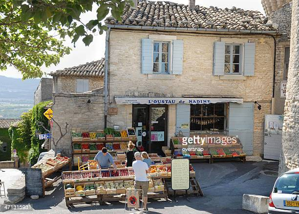 french shop - provence alpes cote d'azur stock photos and pictures