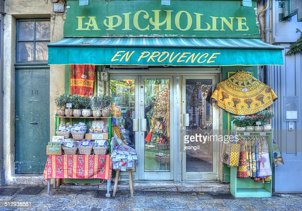 French shop selling traditional Provencal goods