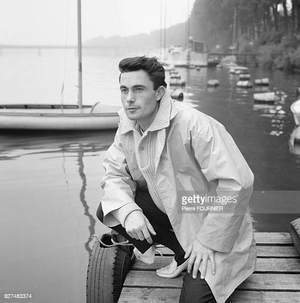 French Singer Alain Barriere 1963