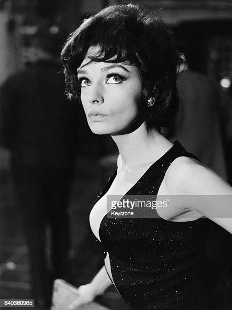 French singer and acress Marie Laforêt as Ida in the French film 'Cent briques et des tuiles' directed by Pierre Grimblat 1965