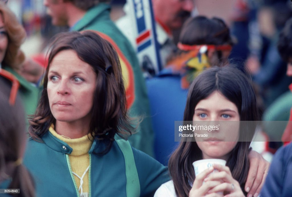 Claudine Longet With Daughter Noelle : News Photo