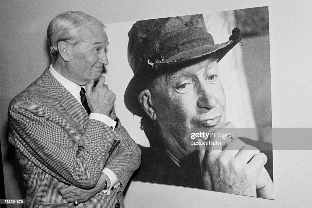 French singer and actor Maurice Chevalier.