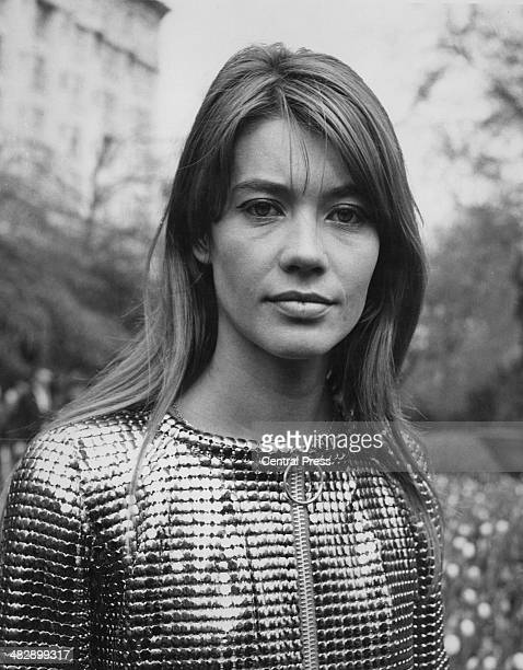 French singer and actress Francoise Hardy, 24th April 1968.