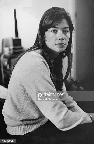 French singer and actress Francoise Hardy, 8th June 1965.