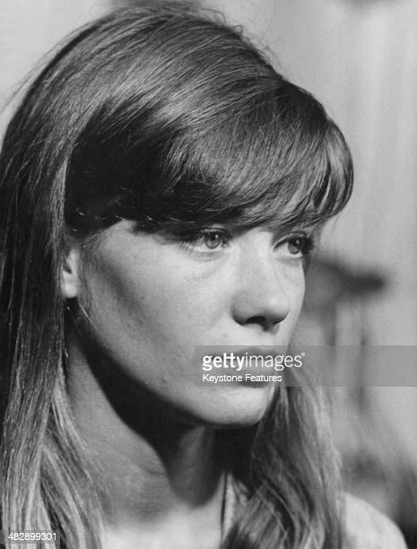 French singer and actress Francoise Hardy, Milan, August 1963.