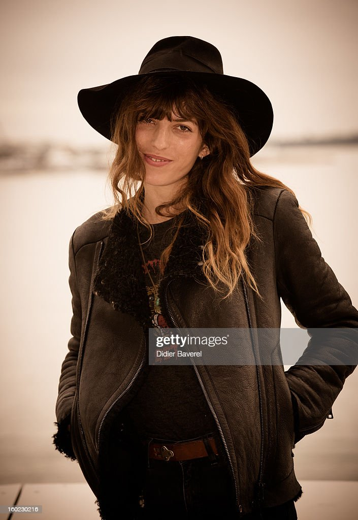 French singer and actress Lou Doillon poses during the photocall of 47th Midem at Palais des Festivals on January 28, 2013 in Cannes, France.