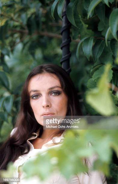 French singer and actress Marie Laforet poses for a portrait in circa 1966