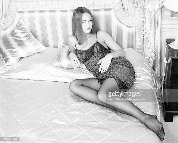 French singer and actress Vanessa Paradis, 1992.