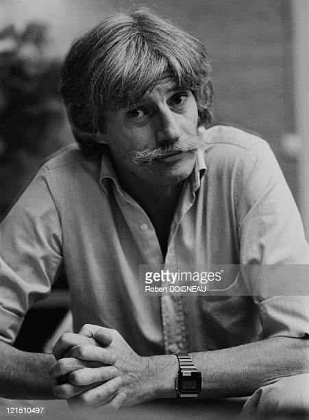 French Singer And Composer Jean Ferrat In 1985