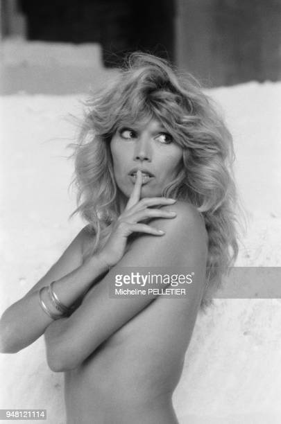 French singer and painter Amanda Lear