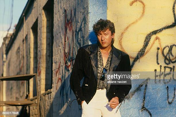 French singer and songwriter Alain Bashung