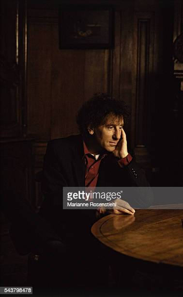 French singer and songwriter Alain Souchon