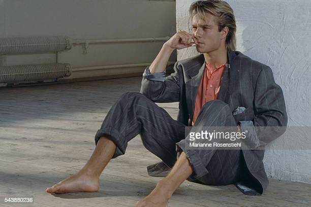 French singer and songwriter David Hallyday.