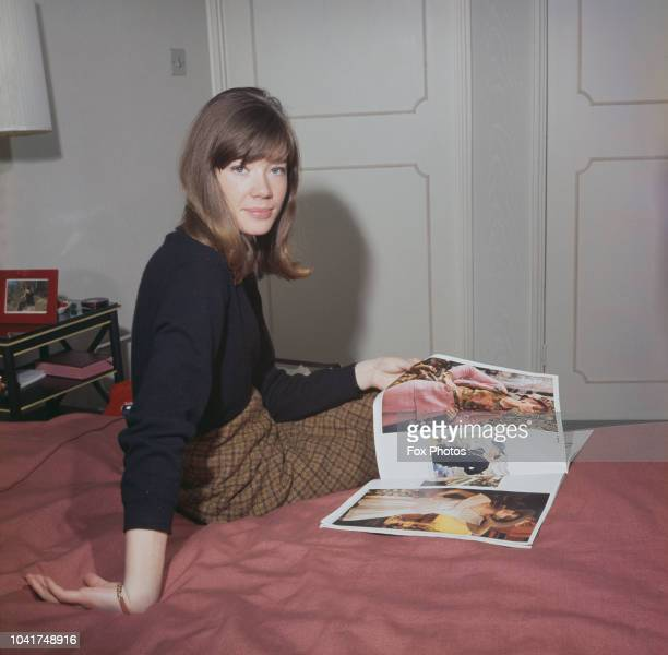 French singer and songwriter Francoise Hardy, circa 1965.