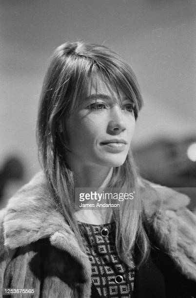 French singer and songwriter Francoise Hardy.