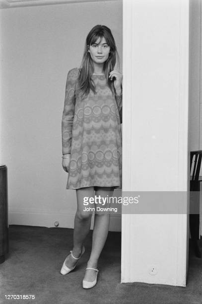 French singer and songwriter Françoise Hardy, 4th October 1966.