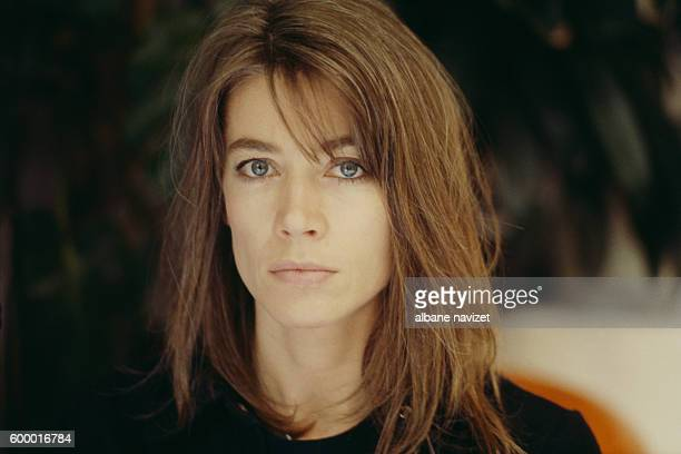 French singer and songwriter Françoise Hardy.