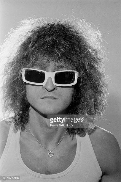 French singer and songwriter Michel Polnareff