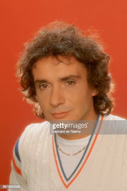 French singer and songwriter Michel Sardou