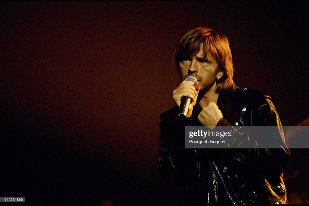 French singer Renaud : News Photo