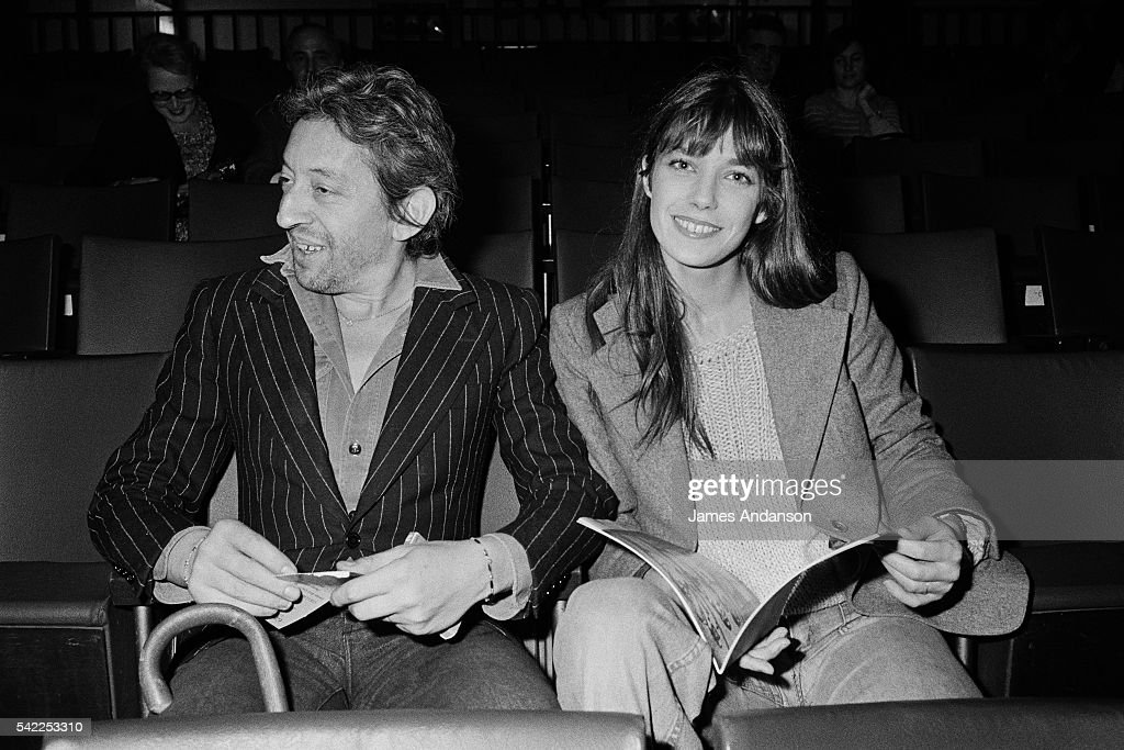 French singer, songwriter, and actor Serge Gainsbourg, his