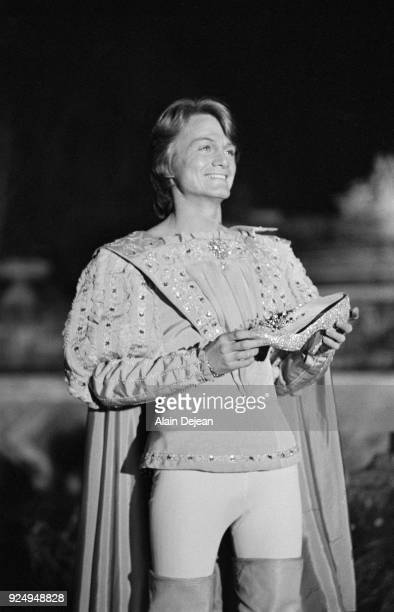 French singer Claude Francois plays Cinderella's charming prince in a television show 30th November 1971