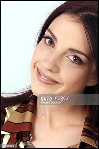 French singer Eve Angeli in France in December, 2001.