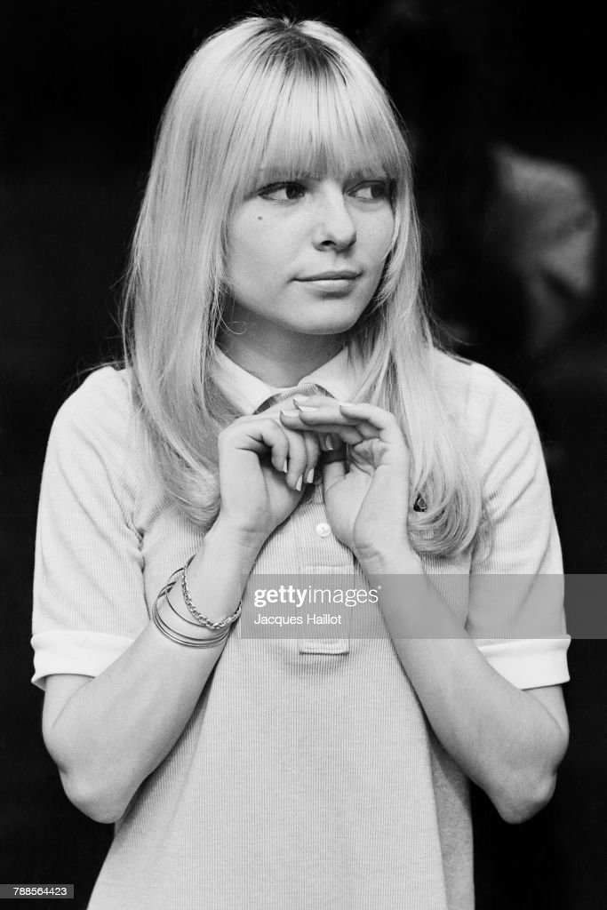 French actress France Gall : News Photo