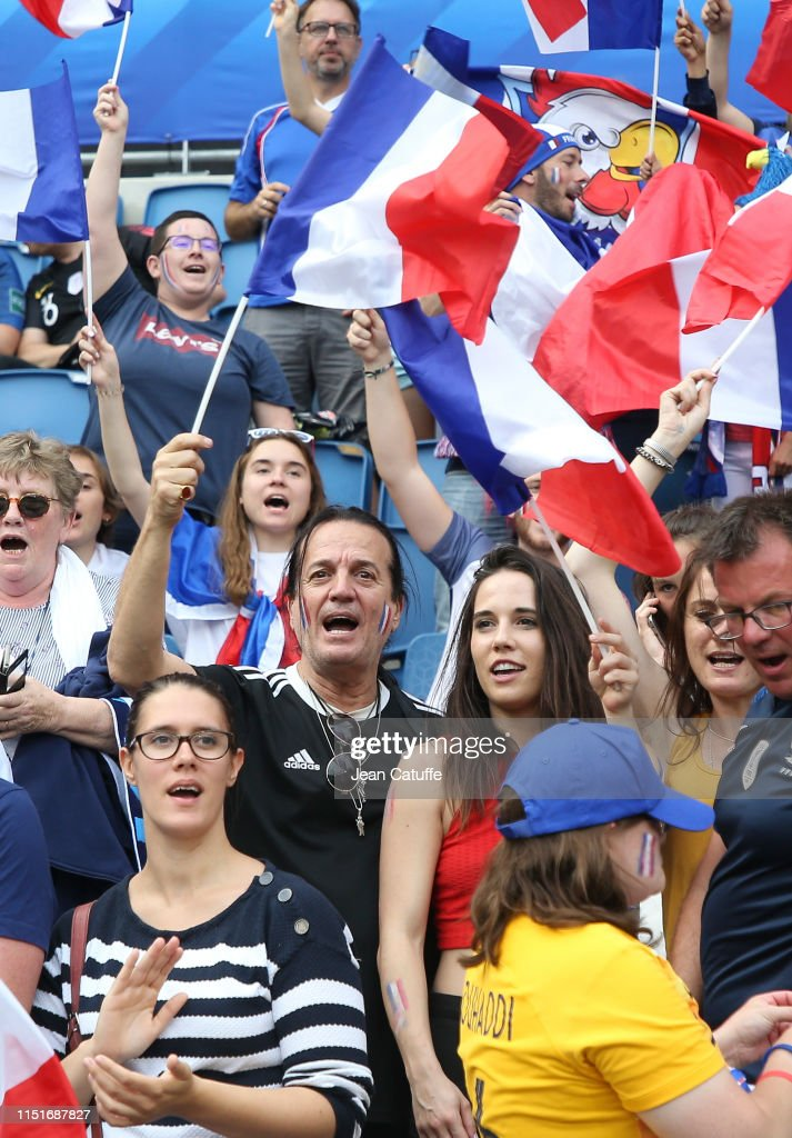French singer Francis Lalanne attends the 2019 FIFA Women's World