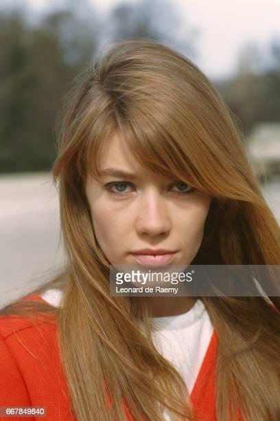 French Singer Francoise Hardy