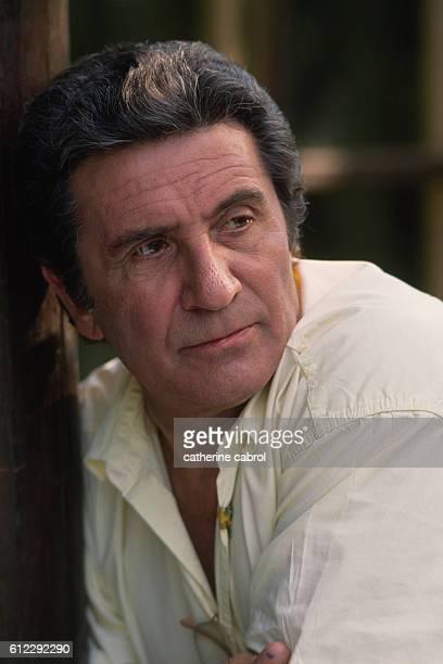 French Singer Gilbert Becaud