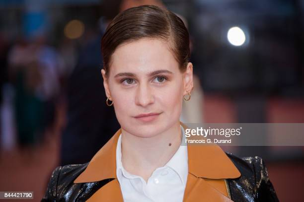 French singer Heloise Letissier aka Christine and The Queens arrives at the screening for mother during the 43rd Deauville American Film Festival on...