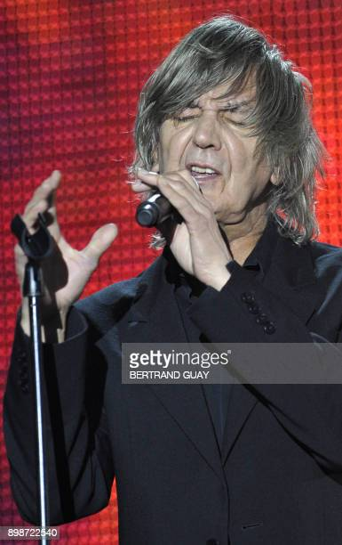 French singer Jacques Higelin performs during the 23rd Victoires de la Musique annual ceremony France's top music award on March 8 2008 in Paris AFP...