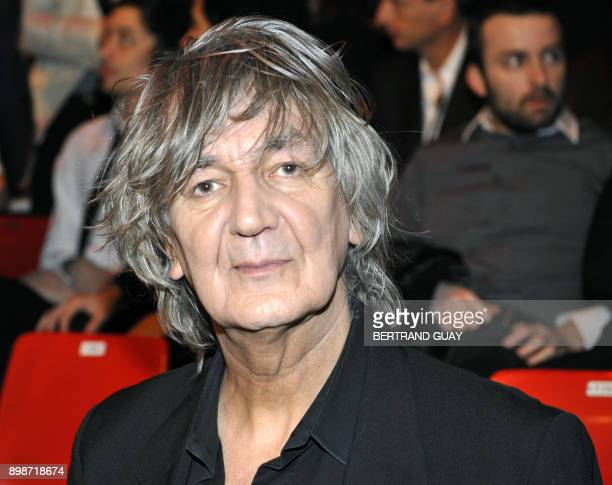 French singer Jacques Higelin poses prior attending the 23rd Victoires de la Musique annual ceremony France's top music award on March 8 2008 in...