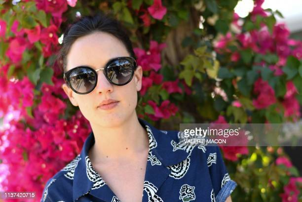 French singer Jain poses for AFP at the Coachella Valley Music and Arts Festival on April 12 in Indio California Decades after the breakout of...