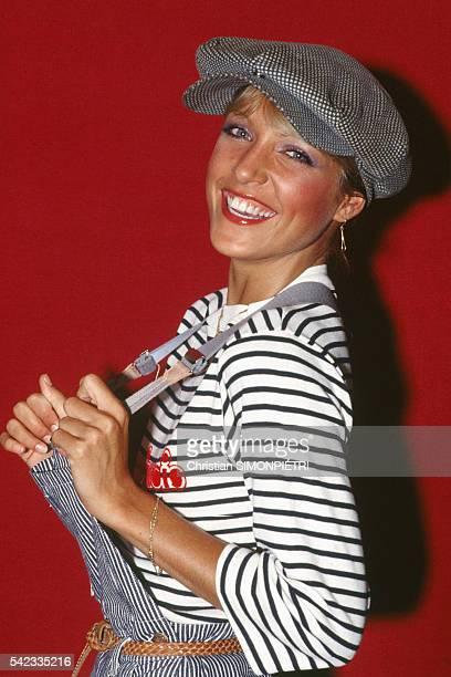 French Singer Joelle of the Group Il Etait Une Fois