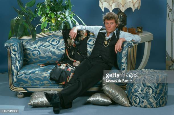 French Singer Johnny Hallyday June 1976