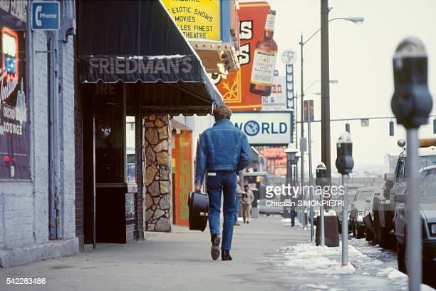 French Singer Johnny Hallyday Records in Nashville