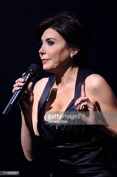 French singer Liane Foly performs at the Grand Casino in Geneva Switzerland on November 10th 2006