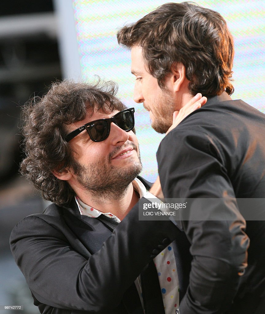 French singer Matthieu Chedid also known : News Photo