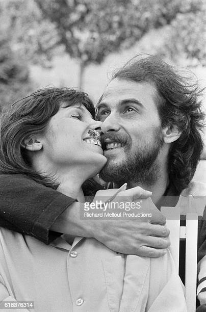 French singer Michel Fugain and his wife embrace in Grenoble A successful musician Fugain returned to his hometown of Grenoble to perform and to...