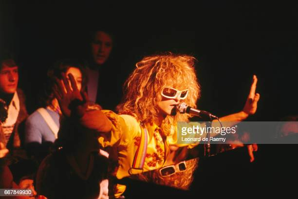 French Singer Michel Polnareff on Stage