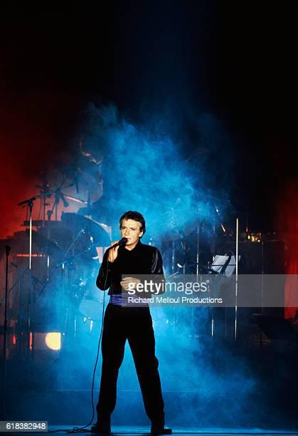 French Singer Michel Sardou on Tour in Orleans