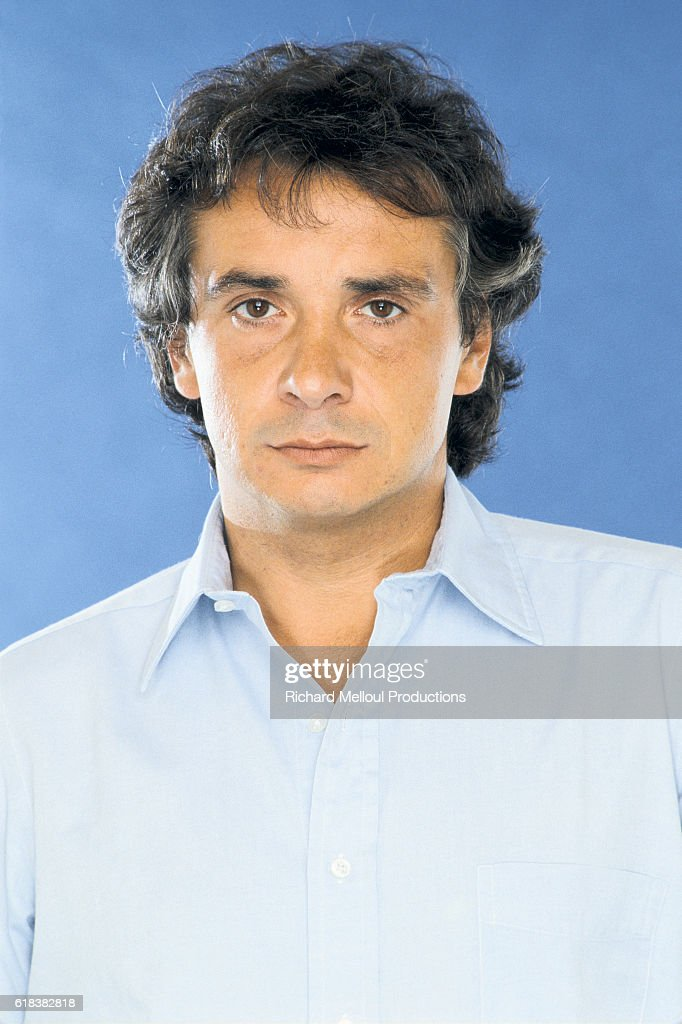 French Singer Michel Sardou : Photo d'actualité