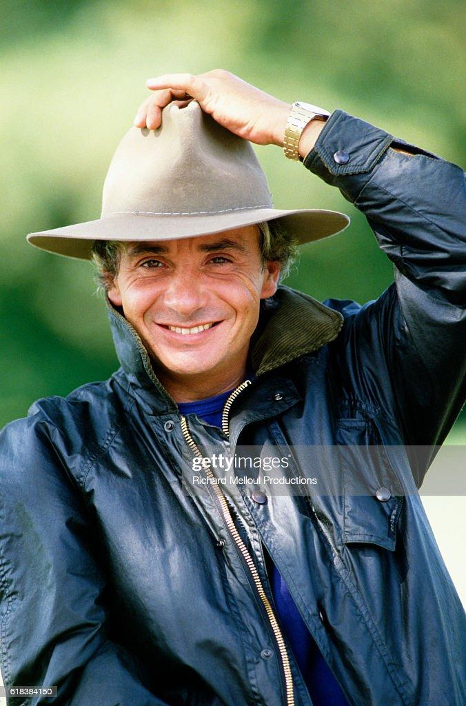 French Singer Michel Sardou : Photo d'actualité