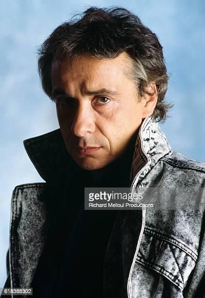 French Singer Michel Sardou