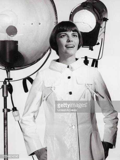 French singer Mireille Mathieu Germany 1970
