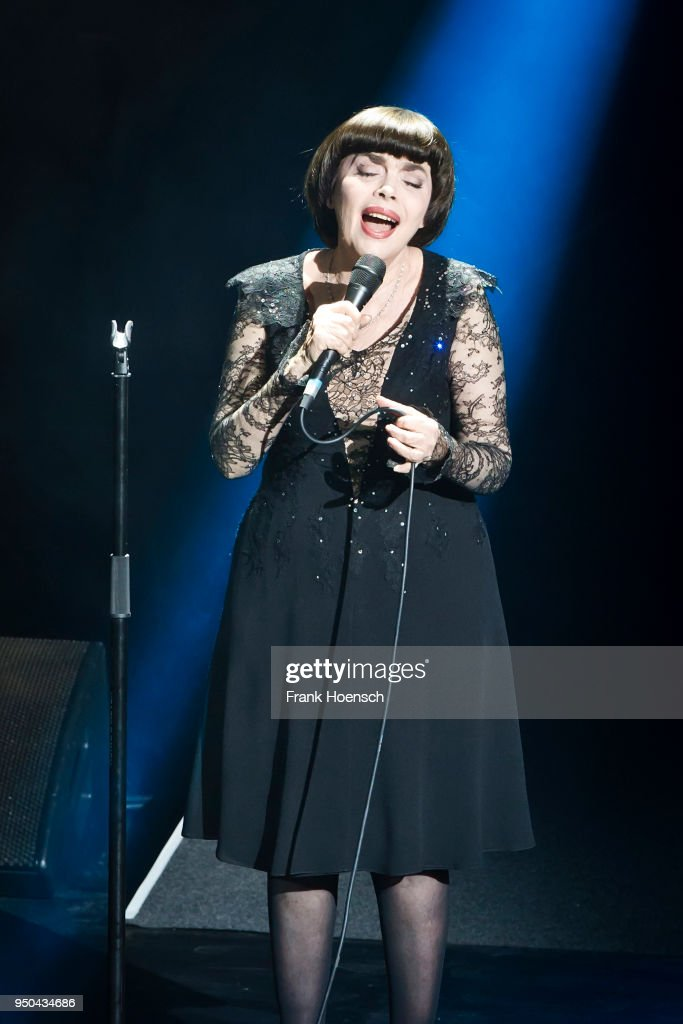 Mireille Mathieu Performs In Berlin