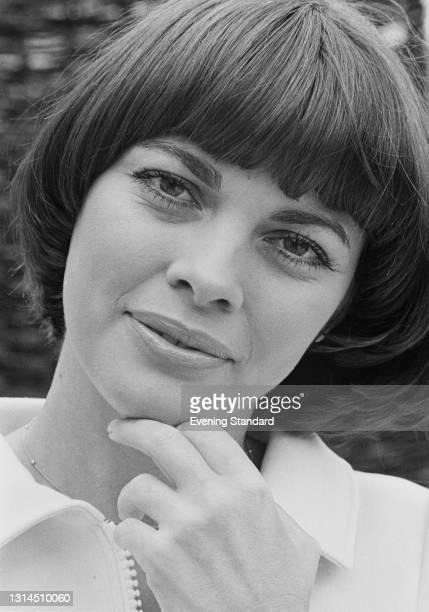 French singer Mireille Mathieu, UK, 9th May 1974.